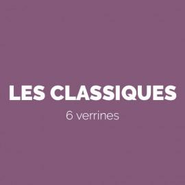 LES CLASSIQUES - 6 VERRINES