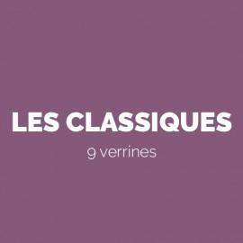 LES CLASSIQUES - 9 VERRINES